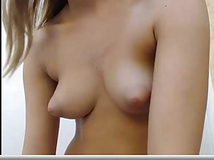 Perky Tits and Shaved Cunt