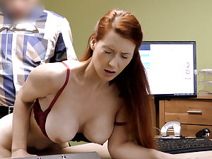 LOAN4K. Great boobs for credit manager