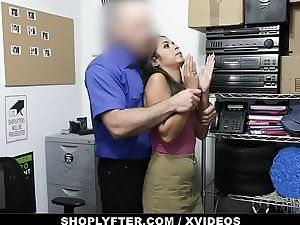 ShopLyfter - Nervous Latina Caught Stealing Is Forced To Mad about